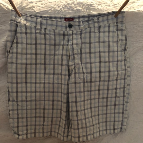 Izod Other - Izod Luxury Sport Plaid Shorts, EUC, sz. 38, $12